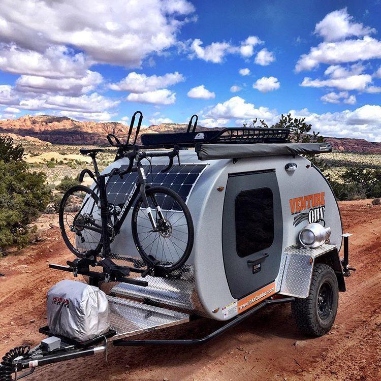 13 Fantastic Teardrop Camper Trailer Design Ideas For Nice Camping Camper Life