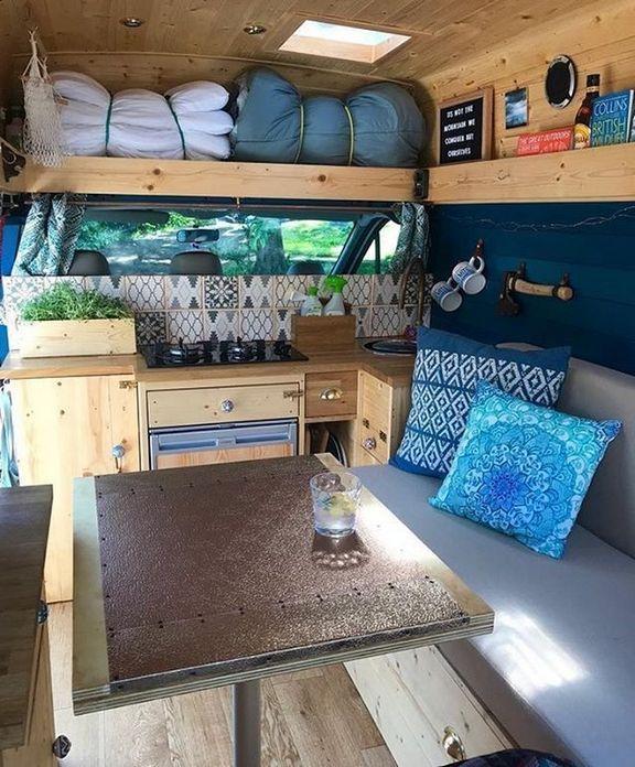 15 Best Interior Design Ideas For Camper Van Pictures Camper Life
