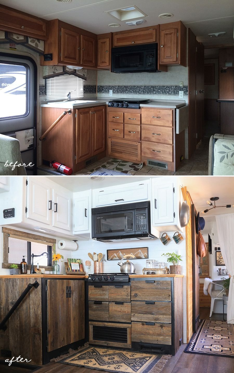 13 Dreamiest Rustic Camper Remodels Camperlife