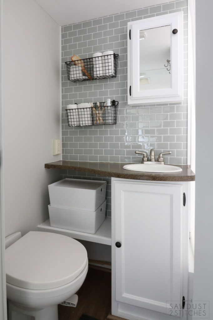 19 Wonderful Rv Bathroom Remodel Camper Life