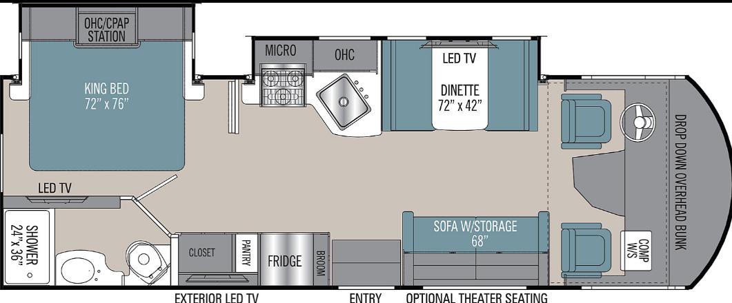 Coachmen Floor plan